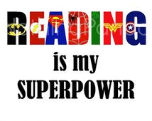 reading super hero